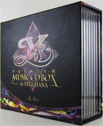 イース -フェルガナの誓い- Ys PREMIUM MUSIC CD BOX in FELGHANA