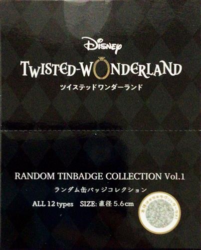 Disney TWISTED-WONDERLAND ブラインド缶バッジコレクション 式典服 vol.1 (1BOX)