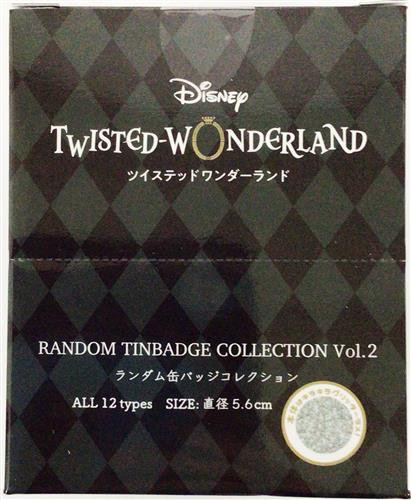 Disney TWISTED-WONDERLAND ブラインド缶バッジコレクション 式典服 vol.2 (1BOX)