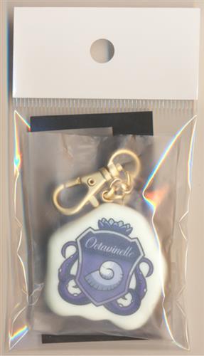 Disney TWISTED-WONDERLAND×Q-pot. シュガークッキーバッグチャーム オクタヴィネル寮