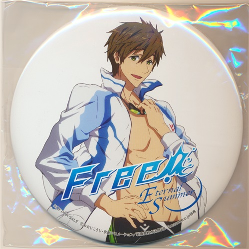 Free!-Eternal Summer- デカ缶バッジ 橘真琴 【Amazon.co.jp BD/DVD1巻購入特典】