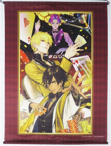 Fate/Grand Order B2タペストリー 黄金と太陽の勝負師 ギルガメッシュ(アーチャー)&オジマンディアス(ライダー)&メフィストフェレス(キャスター)