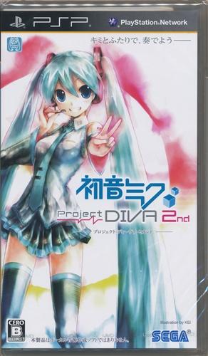 初音ミク -Project DIVA- 2nd (通常版) 【PSP】