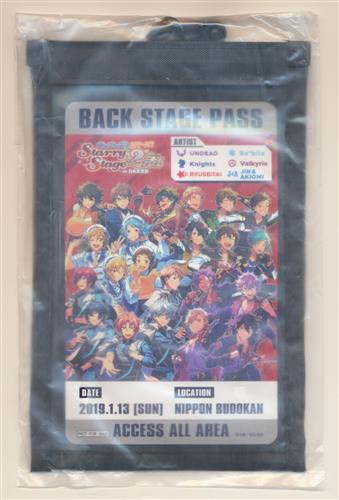 あんさんぶるスターズ! Starry Stage 2nd -in 日本武道館- スタステ2nd オリジナルチケットホルダー