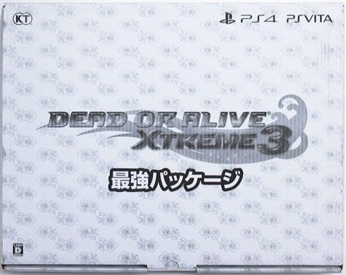 DEAD OR ALIVE Xtreme 3 最強パッケージ