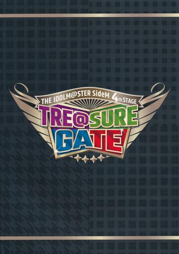 THE IDOLM@STER SideM 4th STAGE ~TRE@SURE GATE~ 公式パンフレット 【THE IDOLM@STER SideM 4th STAGE ~TRE@SURE GATE~】
