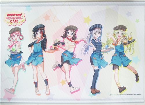 BanG Dream! ガールズバンドパーティ! カフェ B2タペストリー