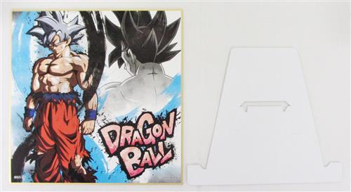 一番くじ ドラゴンボール BATTLE OF WORLD with DRAGONBALL LEGENDS G賞 色紙 孫悟空(身勝手の極意)