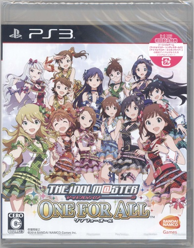 THE IDOLM@STER ONE FOR ALL (通常版) 【PS3】