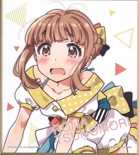 一番くじ Tokyo 7th シスターズ ~3rd Anniversary~ P賞 ミニ色紙 角森ロナ