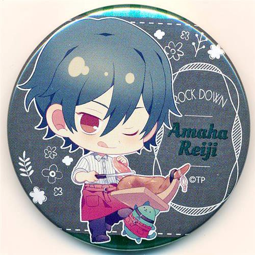 ツキプロ 池袋月野亭 ~Caffe' maggio~×アニメイトカフェ キャラバッジコレクション (缶バッジ) 天羽玲司