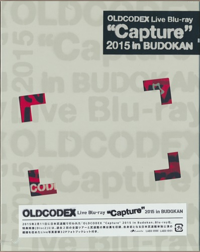 "OLDCODEX Live Blu-ray """"Capture"""" 2015 in BUDOKAN [OLDCODEX]【ブルーレイ】"
