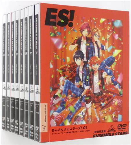 あんさんぶるスターズ! 特装限定版 全8巻セット 【DVD】