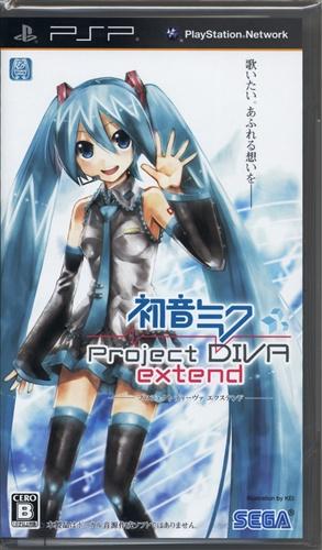 初音ミク -Project DIVA- extend (通常版) 【PSP】