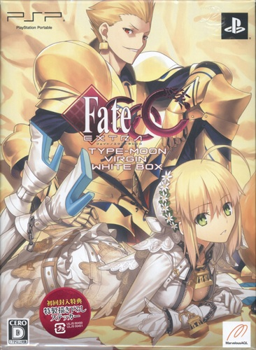 Fate/EXTRA CCC タイプムーン Virgin White Box 完全数量限定生産 【PSP】