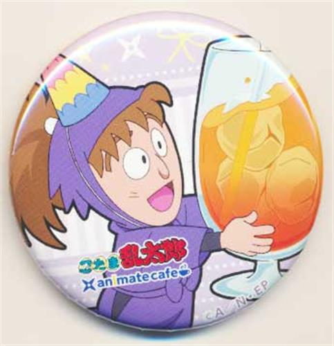忍たま乱太郎×アニメイトカフェ トレーディング缶バッジ 放送開始25年お祝い!の段 Aグループ 不破雷蔵