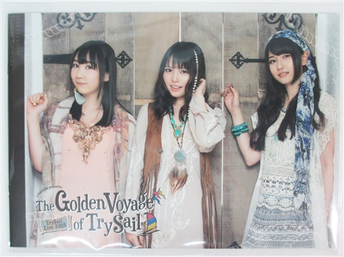"TrySail パンフレット 【LAWSON presents TrySail Live 2015 ""The Golden Voyage of TrySail""】"