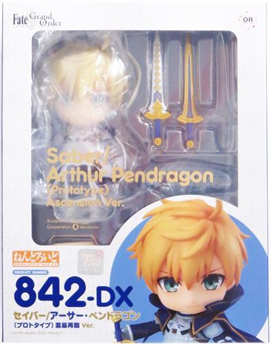 ねんどろいど 842-DX Fate/Grand Order セイバー/アーサー・ペンドラゴン[プロトタイプ] 霊基再臨 Ver.