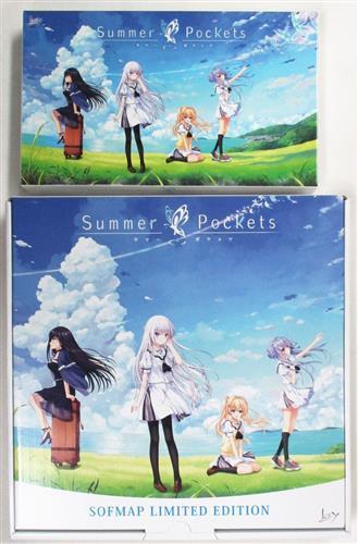 Summer Pockets 初回限定版 ソフマップLIMITED EDITION