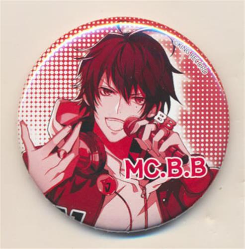 ヒプノシスマイク-Division Rap Battle- トレーディング缶バッジ 山田一郎(MC.B.B)