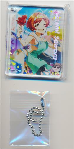 Tokyo 7th シスターズ×アニメイトカフェ CoLotta トレーディングアクリルプレートキーホルダー 晴海サワラ