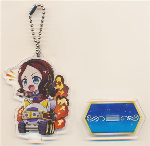 Fate/Grand Order Arcade×セガコラボカフェ スタンド付きデフォルメアクリルキーホルダーA レオナルド・ダ・ヴィンチ(ライダー)