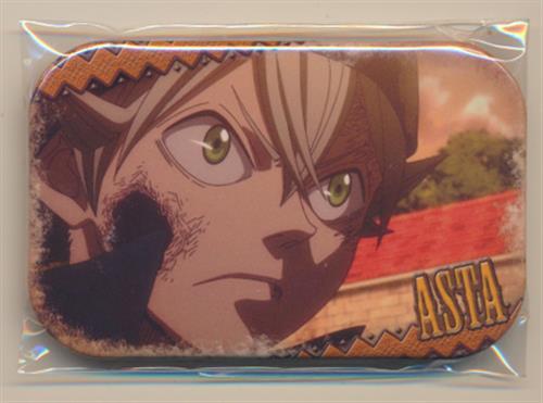 ブラッククローバー まるかくカンバッジ(缶バッジ) アスタ A