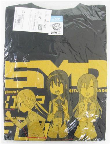 生徒会役員共 Tシャツ BLACK (XLサイズ)