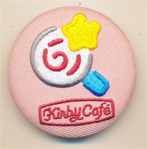 星のカービィ カービィカフェ 刺繍バッジコレクション(缶バッジ) 無敵キャンディー