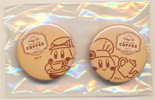 星のカービィ カービィカフェ カンバッジコレクション ミニ(缶バッジ) カービィ&ワドルディ B