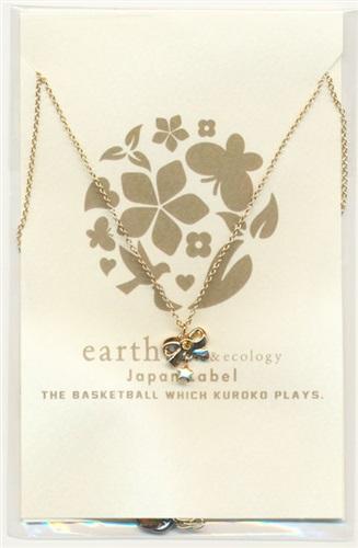 黒子のバスケ × earth music & ecology Japan Label リボン&スターモチーフネックレス 黄瀬涼太