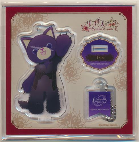 うたの☆プリンスさまっ♪ PRINCE CAT スタンド付きアクリルキーホルダー Shining Masterpiece Show Ver. アイリス 一ノ瀬トキヤ