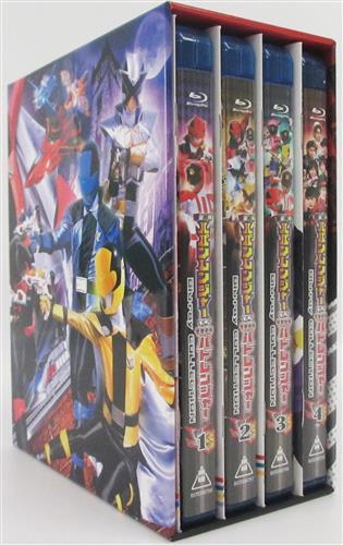 快盗戦隊ルパンレンジャーVS警察戦隊パトレンジャー Blu-rayCOLLECTION (初回版) 全4巻セット