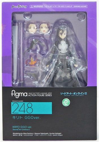 figma 248 ソードアート・オンライン II キリト GGOver. 【フィギュア】[マックスファクトリー]