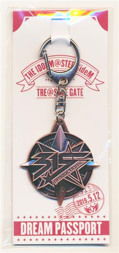 THE IDOLM@STER SideM 4th STAGE ~TRE@SURE GATE~ 公式会場限定キーホルダー DREAM PASSPORT 【THE IDOLM@STER SideM 4th STAGE ~TRE@SURE GATE~】
