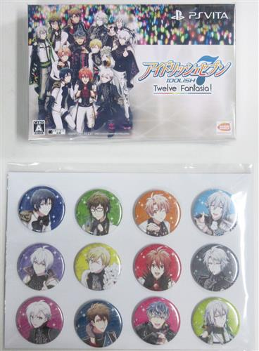 アイドリッシュセブン Twelve Fantasia! 初回限定版 アニメイト限定セット 【PS VITA】
