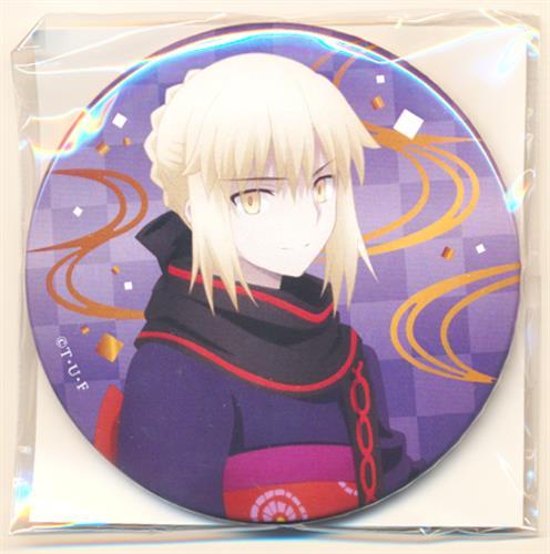 劇場版 Fate/stay night [Heaven's Feel]×すき家 缶バッジ セイバーオルタ  【ゼンショーネットストア限定】