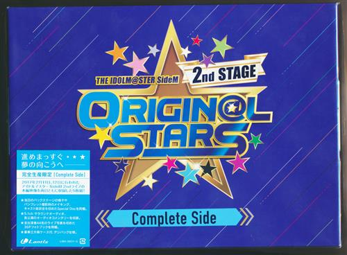 THE IDOLM@STER SideM 2nd STAGE ~ORIGIN@L STARS~ Live Blu-ray [Complete Side] 完全生産限定版