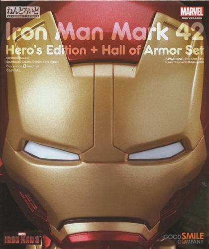 ねんどろいど 349 アイアンマン 3 アイアンマン マーク42 ヒーローズ・エディション+ホール・オブ・アーマーセット
