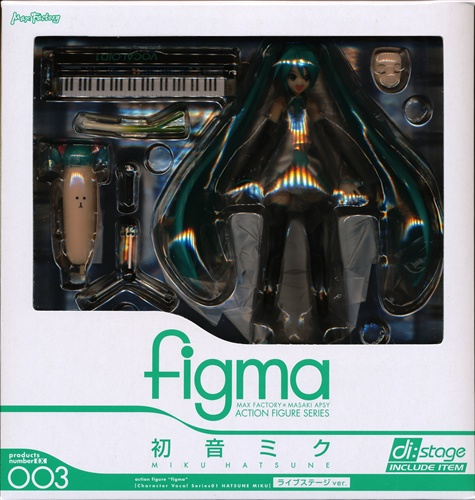 figma EX-003 VOCALOID 初音ミク ライブステージver. 【ワンフェス2009夏】
