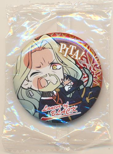 ぴた!でふぉめ Fate/Apocrypha 缶バッジ 黒のランサー