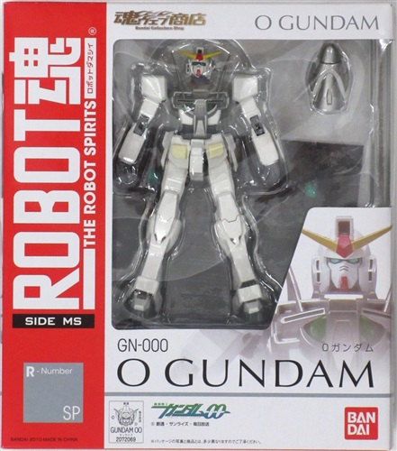 ROBOT魂 <SIDE MS> R-Number SP 機動戦士ガンダム00 0ガンダム 【魂ウェブ商店限定】