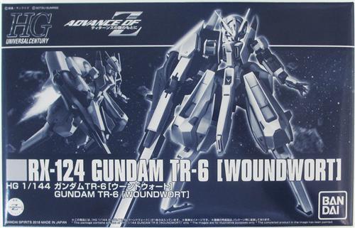 HGUC ADVANCE OF Ζ ティターンズの旗のもとに ガンダム TR-6 [ウーンドウォート] (再販版) 【プレミアムバンダイ限定】