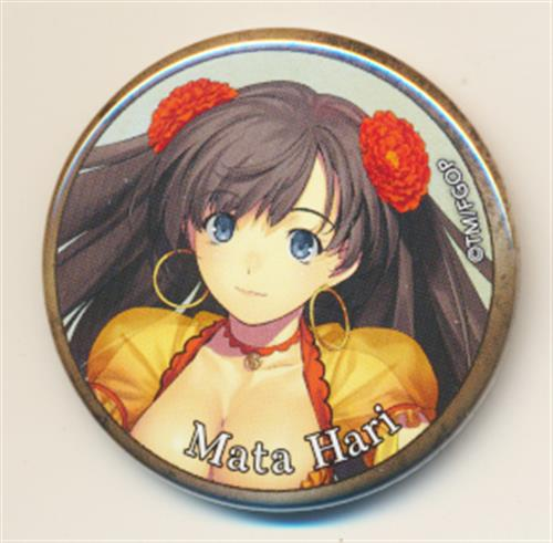 Fate/Grand Order vol.3 コレクション缶バッジ マタ・ハリ(アサシン)