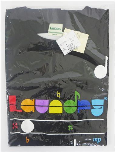 アイドリッシュセブン×LAUNDRY コラボTシャツ(L/ブラック) 【アイドリッシュセブン コラボレーションフェスタ in Sunshine City ALTA】