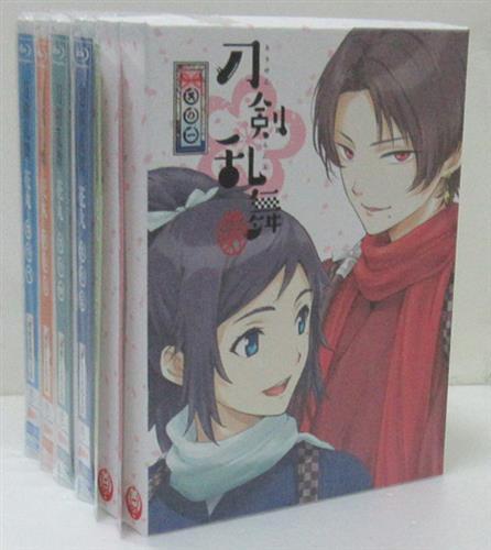 刀剣乱舞-花丸- 初回生産限定版 全6巻セット