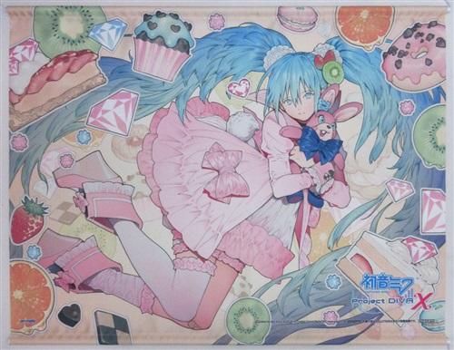 初音ミク -Project DIVA- X 布タペストリー 初音ミク 【アニメイト特典】【池袋本店出品】