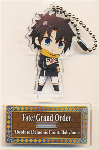 Fate/Grand Order -絶対魔獣戦線バビロニア-×セガコラボカフェ スタンド付きデフォルメアクリルキーホルダーA 藤丸立香