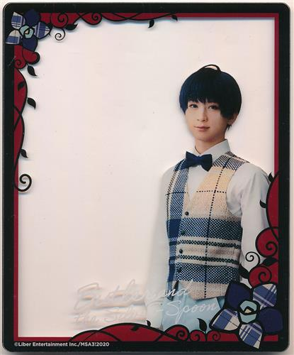MANKAI STAGE A3! ~WINTER 2020~ ランダムアクリルクリアカード 劇中劇ver. 月岡紬(荒牧慶彦) A