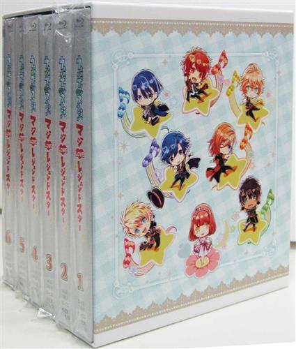 うたの☆プリンスさまっ♪ マジLOVEレジェンドスター 全6巻+アニメイト全巻購入特典 BD全巻収納BOXセット